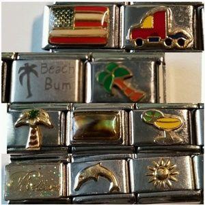 Jewelry - Nostalgic Italian Charms Watch & Bracelet